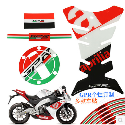 New 3D Motorcycle Fuel Tank Decal Pad Protector Cover Sticker Decoration Decal For Aprilia RSV4 R/RR RSV 1000 Mille EVT 120