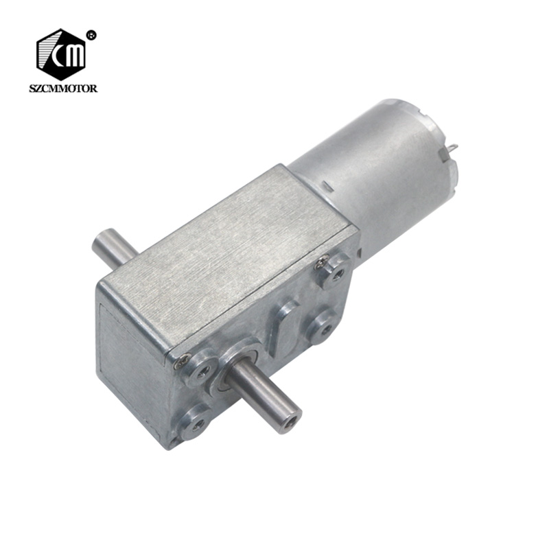 все цены на 6V-24V 2RPM to 150RPM Full Metal Gearbox High Torque Dual Output Shafts Worm Gear Motor онлайн