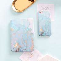 Blue Marble Grain Magnet PU Flip Cover For Amazon Kindle Paperwhite 1 2 3 449 558
