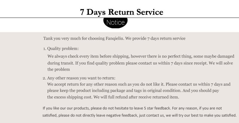 7 days return service 2