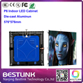 indoor full color led cabinet die cast aluminum cabinet with p6 led module 1/16s for rgb led video wall led advertising screen