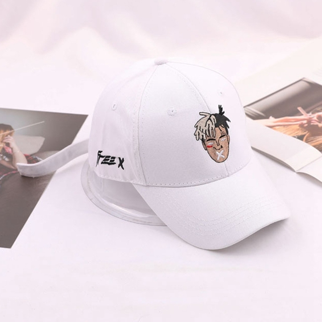 High Quality Cotton Singer Xxxtentacion Dreadlocks Snapback Cap For Men Women Hip Hop Dad Hat Baseball Cap Bone Garros
