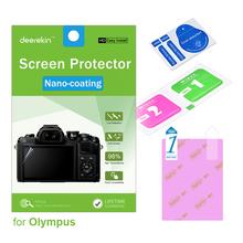 Deerekin HD Nano-coating Screen Protector for Olympus Tough TG-6 TG-5 TG-4 TG-3 TG5 TG4 TG3 TG 5 4 3 Digital Camera cheap Exact Screen Dimension DK-NANO-SP-TG5 Soft UV