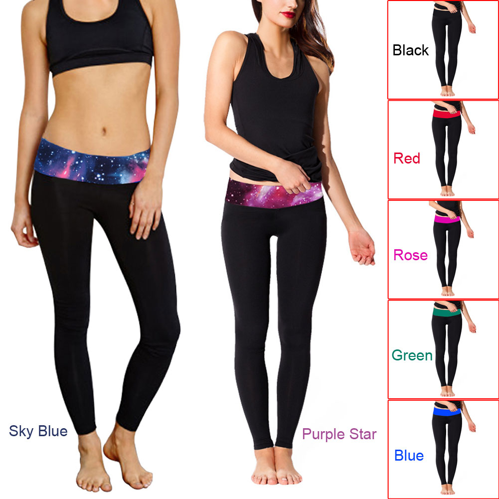 80e5e3f94739f2 Hot Selling Oversized Stitching Stretch Yoga Trend Tight Leggings Mention Thin  Pants