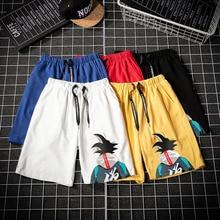 Summer Men's Beach Shorts Trend Printing Men's Shorts M-4XL Elastic Waist Men's Beach Shorts m 4xl