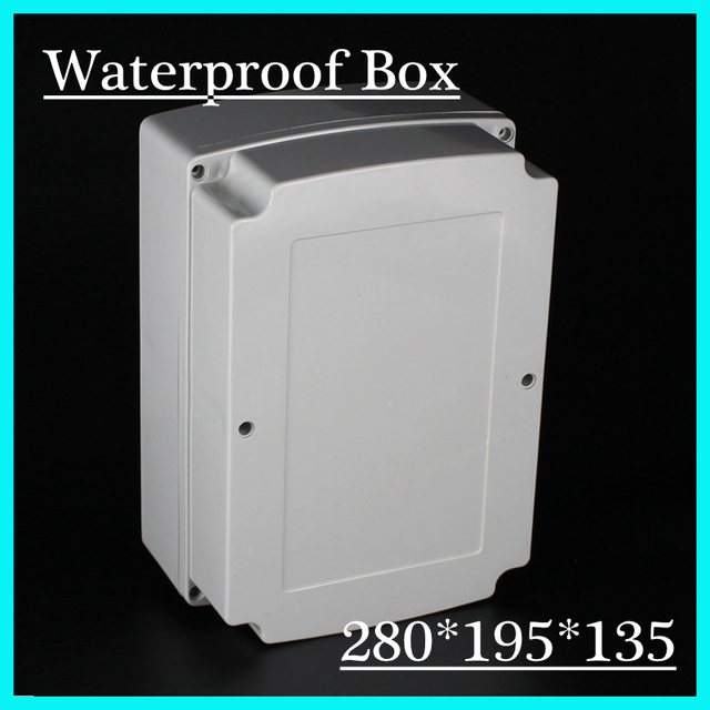 Free shipping 280*195*135mm waterproof electronic project case ...