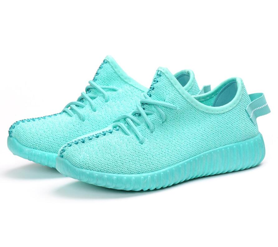 Peu Tennis Femmes Bas Green Zapatillas Red Casual pink mint Mode Tricoter Mujer Chaussures Lacent Net Confort black dark À Jeune Air T690 Profonde Dame Maille Blue Loisirs zqPFUA