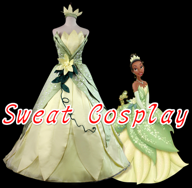 high quality the princess and the frog tiana costume halloween costumes for women adult princess tiana