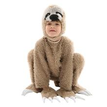 Costume Kids Sloth Pajamas Jumpsuit Animals Cosplay Suit Baby Boys Girls  Halloween Children s Day Cosplay Costume 53247b78c8a7