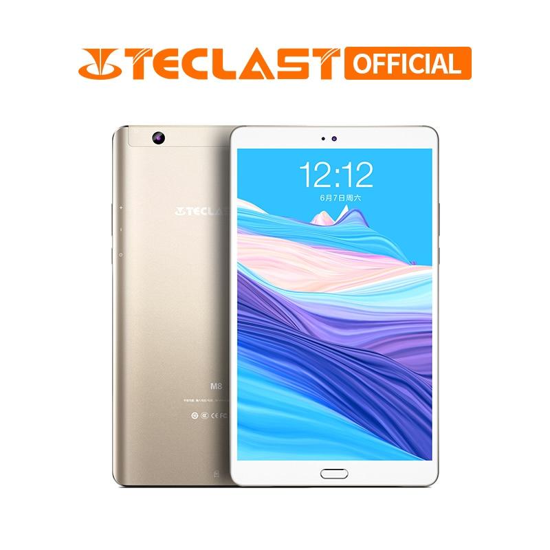 8.4 Inch 2560 X 1600 Teclast M8 Android 7.1 Tablet PC Allwinner A63 Quad Core Tablets 3GB RAM 32GB ROM Dual Wifi GPS Dual Camera