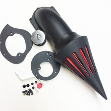 Aftermarket free shipping motorcycle parts Spike Air Cleaner intake filter for  Honda VTX1300 VTX Black