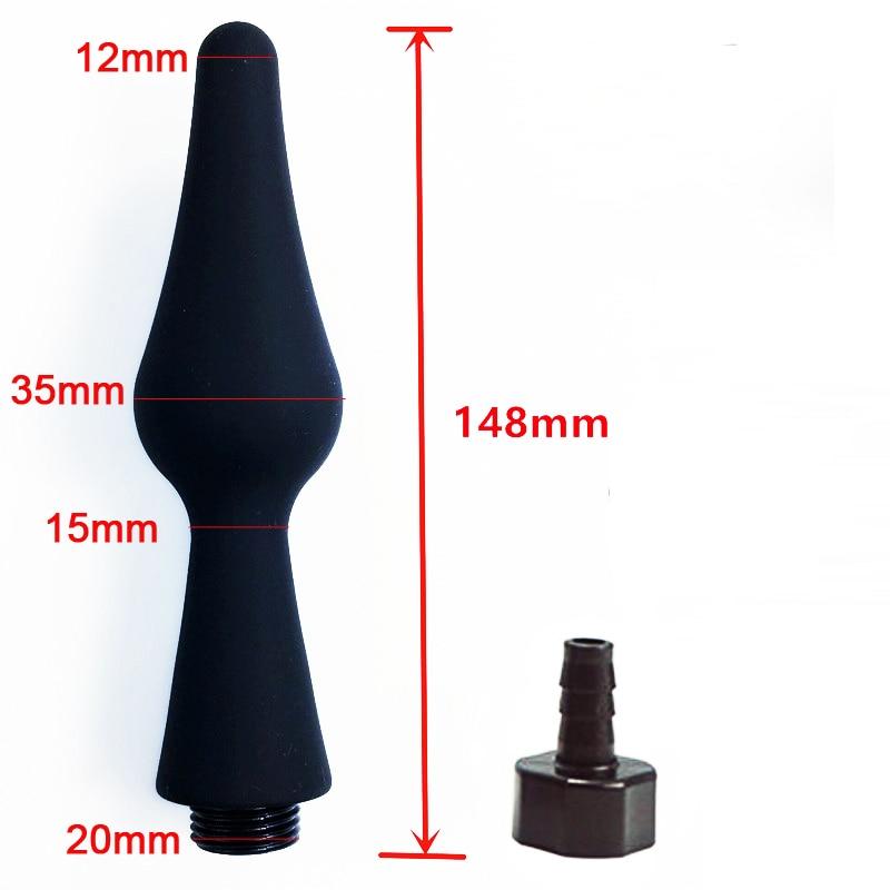 Modun душ клизма для анальной чистки анус вагинальный очиститель душ силиконовая насадка для туалета Биде Душ наконечник портативный биде опрыскиватель