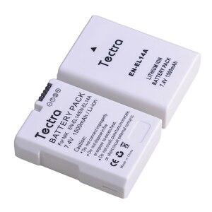 1PCS 1500mAh EN-EL14A EN-EL14 ENEL14 Battery for Nikon D3100 D3200 D3300 D3400 D3500 D5600 D5100 D5200 P7000