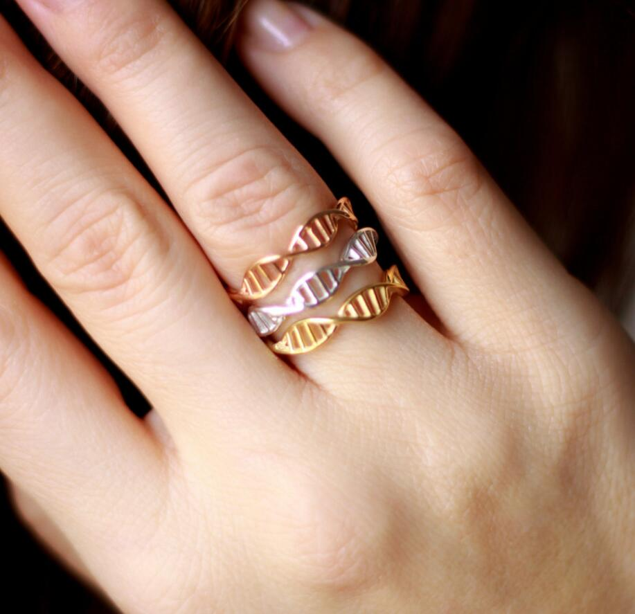 New Fashion DNA ring for womens