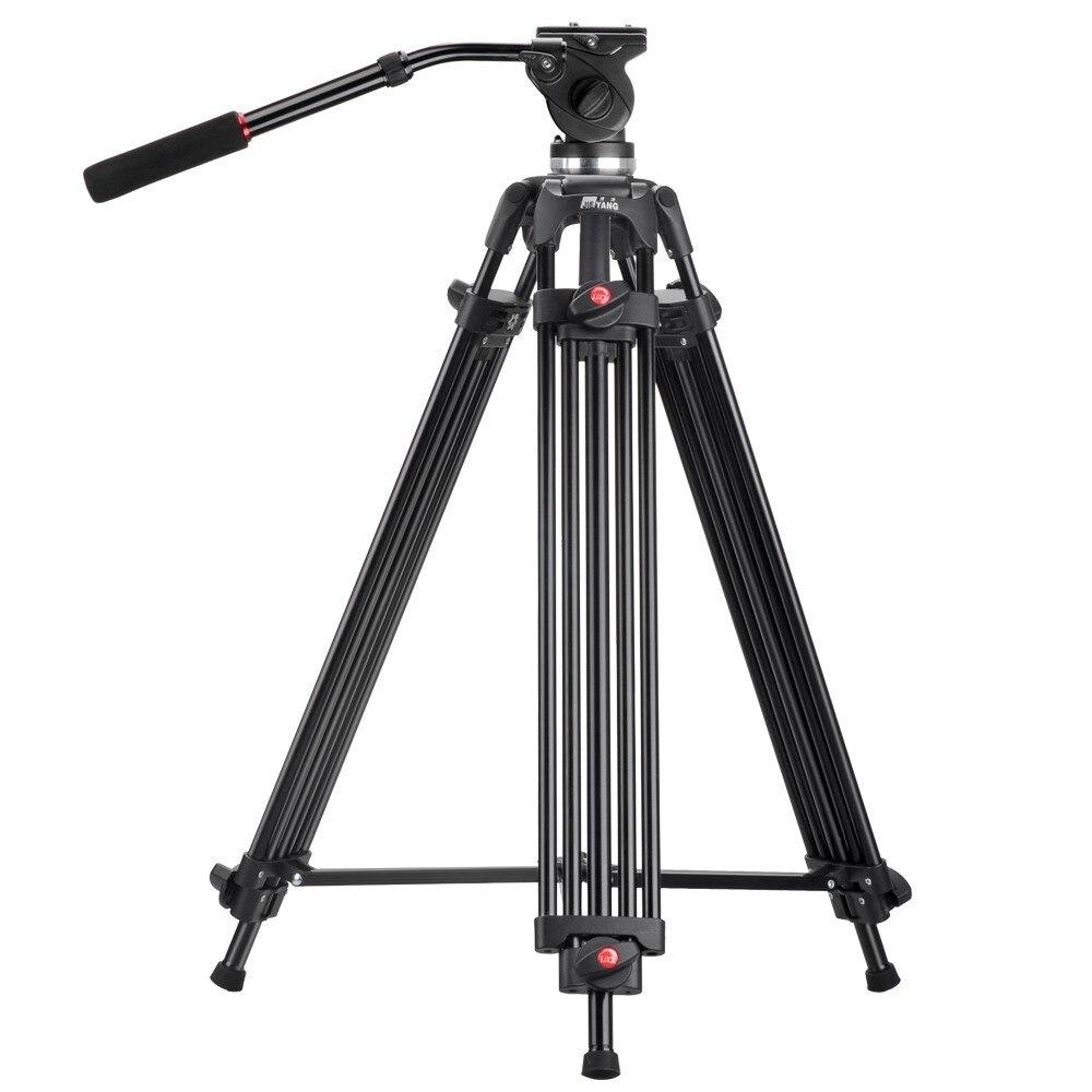 JY0508 JY-0508 JIEYANG Professionelle Stativ für Kamera Aluminium Stativ DSLR Flüssigkeit Kopf Dämpfung Stative für Videoaufnahmen