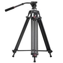 JY0508 JY-0508 JIEYANG Trípode Profesional de soporte de la cámara/DSLR video trípodes/Cabezal Hidráulico de Amortiguación