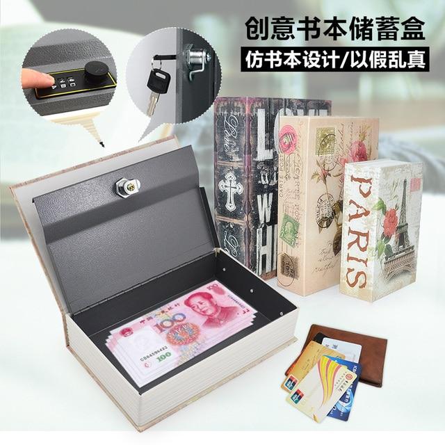 Aliexpress Buy Books lock password box piggy bank piggy bank – Large Fuse Box