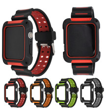 Silicone Strap For Apple Watch Band 38/42/40/44mm Bracelet  Iwatch Rubber 4/3/2 Sport Wristbands