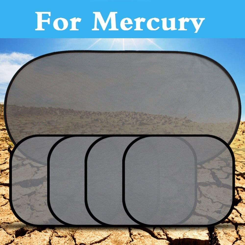 1Set Car Sun Shades Cover Mesh Visor Shield Screen UV protection For Mercury Grand Marquis Mariner Milan Montego