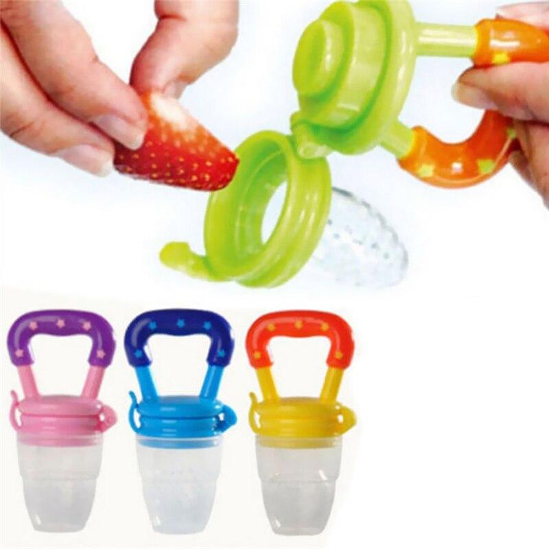 Baby Pacifier Fresh Food Milk Nibbler Feeder Kids Nipple Feeding Safety Baby Supplies Nipple Teat Pacifier Bottles Feeding Tool