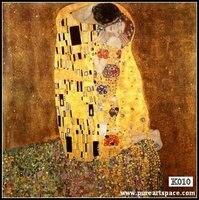 Gustav Klimt The Kiss Poster Free Shipping High Quality