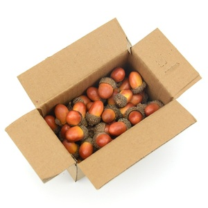 Image 5 - זול 20pcs 3cm בלוטים מיני מלאכותי מזויף קצף פירות וירקות פירות יער פרחים לחתונה חג המולד עץ קישוט