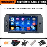 Upgraded Original Car Multimedia Player Car GPS Navigation Suit To Mercedes Benz C200 180 260 With