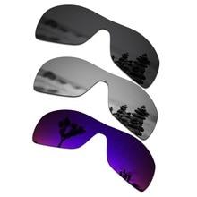 4b9ed8baa SmartVLT 3 piezas gafas de sol polarizadas lentes de recambio para el Oakley  Antix (Stealth negro y plata titanio y Plasma púrpu.