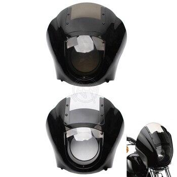 Motorcycle Windshield Fairing Kit For Harley 1986-1994 FXR 1988-later Sportster XL 1995-2005 Dyna Models