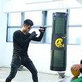 Verde hollow 80/100/120 cm fitness training bolsa gancho kick mma sacos de arena saco de arena de boxeo lucha muay tailandés saco de pancada