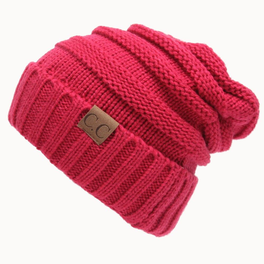 Women New Design Caps Twist Pattern Women Winter Hat Knitted Sweater Fashion beanie Hats For Women 13 colors gorros