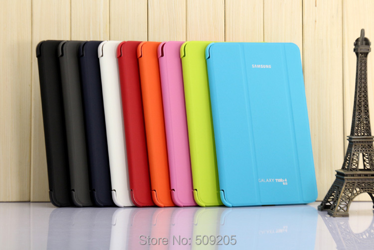 3 IN 1 , Business Case Stand Tablet Cover Case For Samsung Galaxy Tab 4 8.0 T330 T331 T335 + Screen Film + Stylus