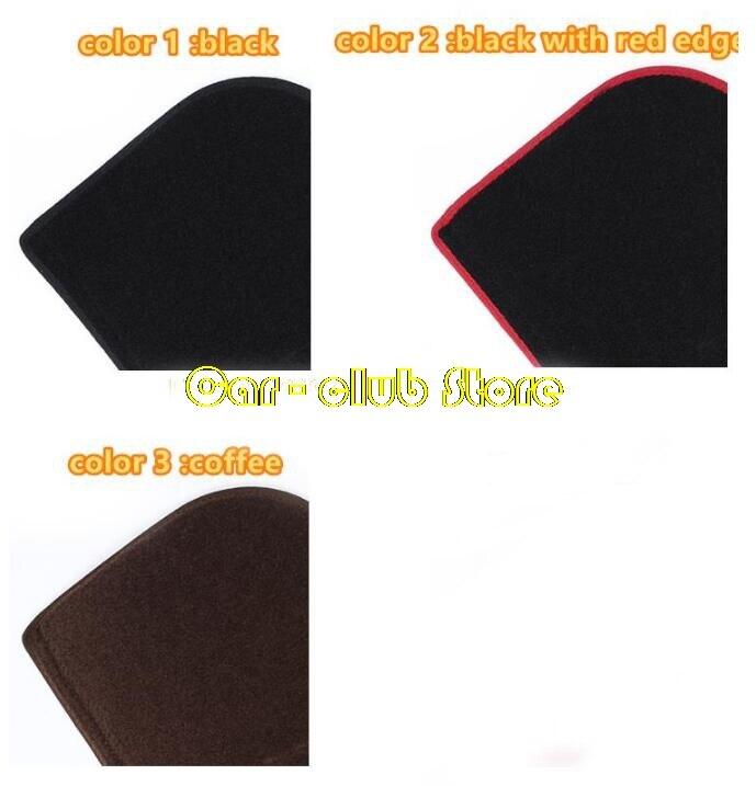 Size: Left Hand Drive, Style: Black Edge for Audi A8 2004 2005 2006 2007 2008-2017 Car Styling Dash Mat Dashmat Dashboard Sticker Cover Sun Shade Dash Board Cover Carpet