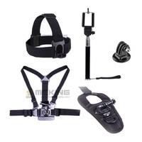 Gopro Adjustable Camera Chesty Harness Belt Head Strap selfie monopod adapter mount Glove style Mount for Hero 2 3 3+ 4 sj4000