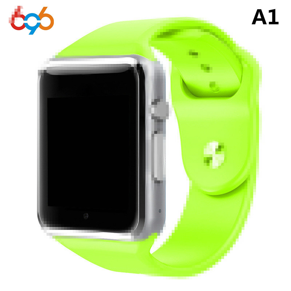 696 Bluetooth A1 Smart Watch Clock Sync Notifier Support SIM TF Card Connectivity Apple iphone Android Phone Smartwatch