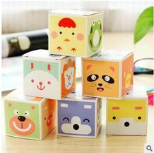 Message Sticky / Scratch Pad / Animal Scratch Pad / Creative Boxed Sticky Note  6pcs/box