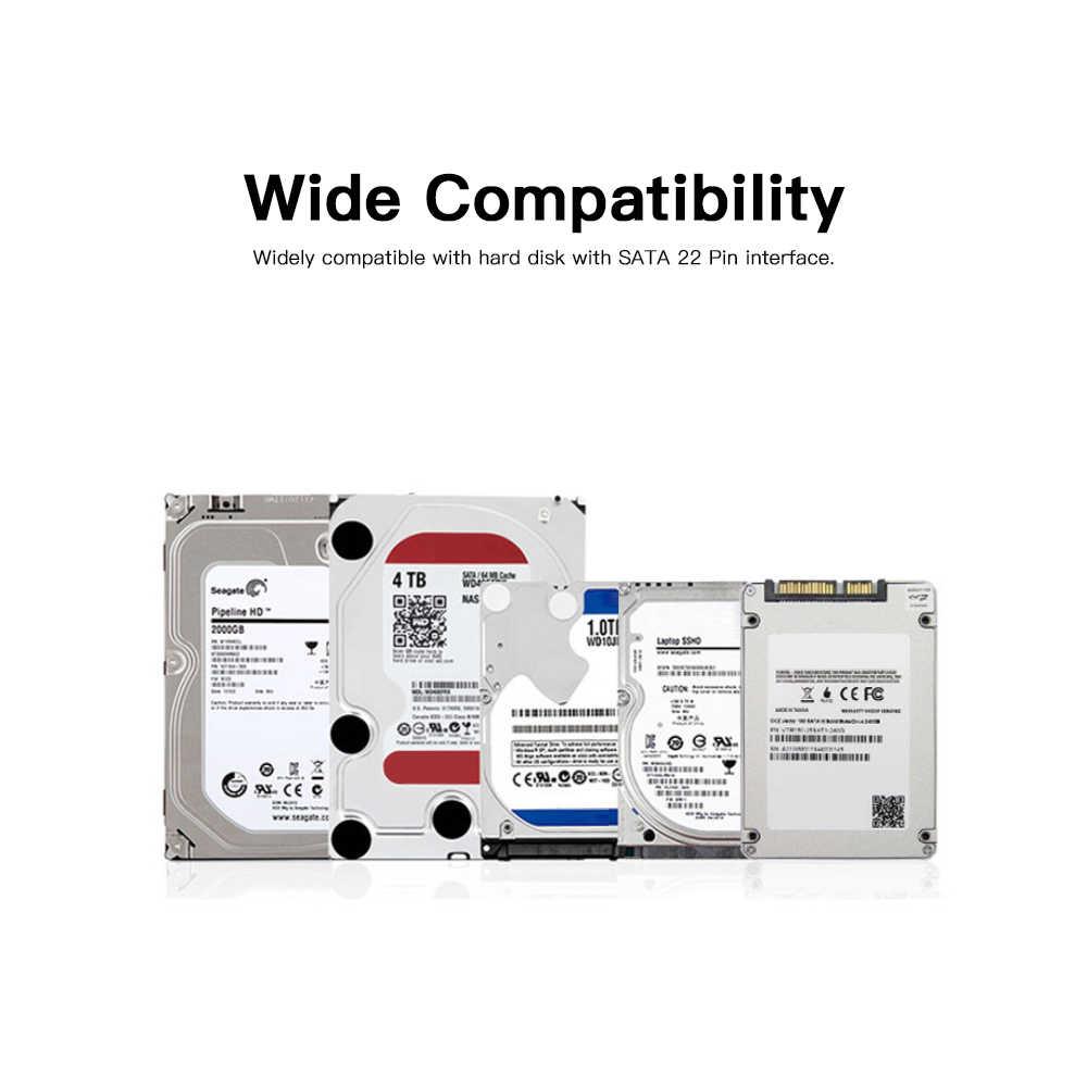 חדש USB 3.0 SATA 3 כבל Sata ל-usb מתאם עד 6 Gbps תמיכה 2.5 סנטימטרים החיצוני SSD כונן קשיח 22 פינים Sata III כבל