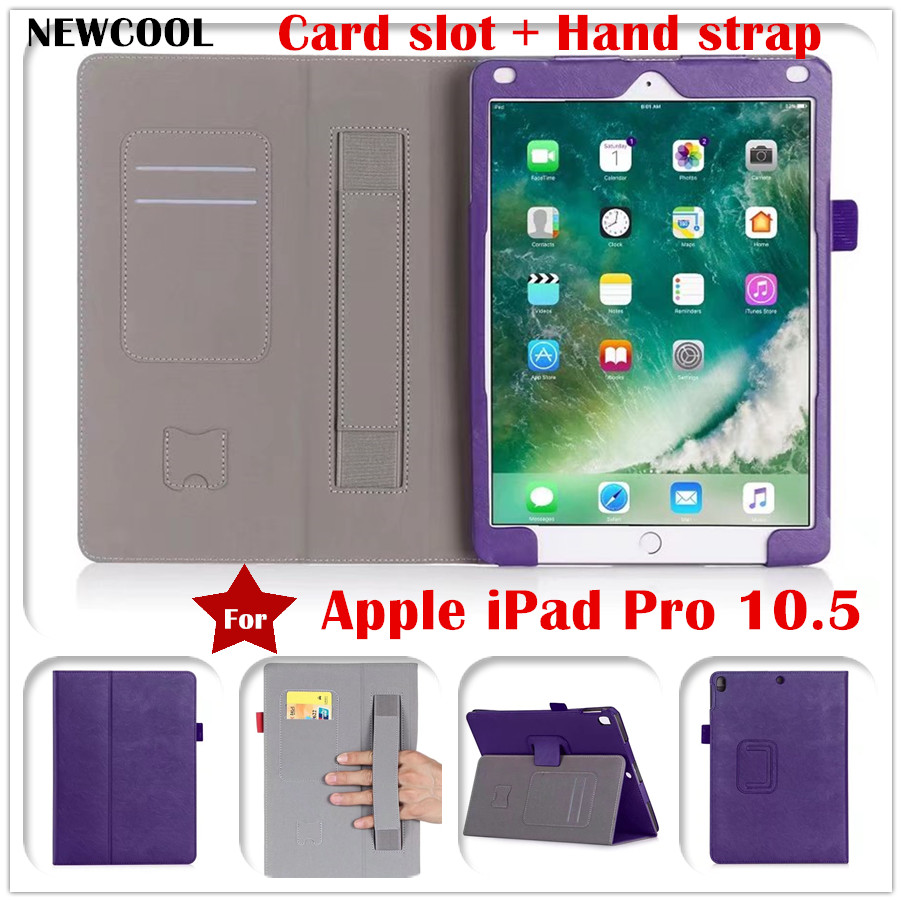 Flip Magnet Stand PU Leather Case Folio Cover for Apple iPad Pro 10.5 10.5