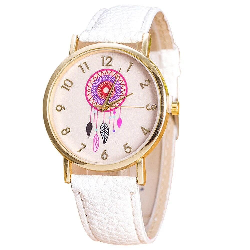 Women Fashion Dreamcatcher Watch Ladies Quarzt Watches relogio feminino 1635