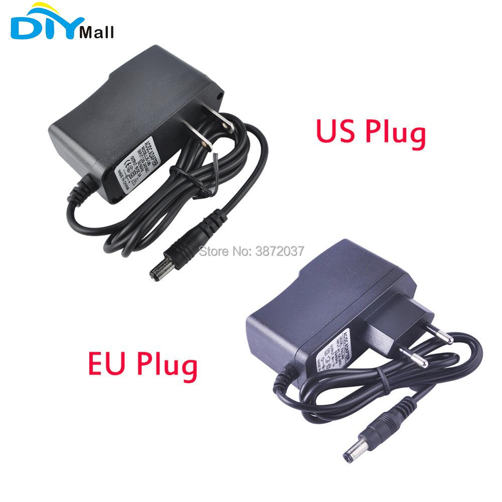 DIYmall AC Power Supply 9V 1A Adapter US Plug EU Plug For Arduino UNO MEGA Duemilanove