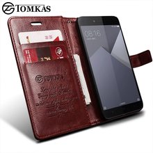 TOMKAS Filp Cases For Xiaomi Redmi Note 5A Case Leather Wallet Card Pocket Stand Phone Bag Cases Xiaomi Redmi Note 5A Cover Case