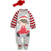 Baby Kids Boy Girl Warm Infant Long Sleeve Romper Jumpsuit Cotton Clothes Outfit