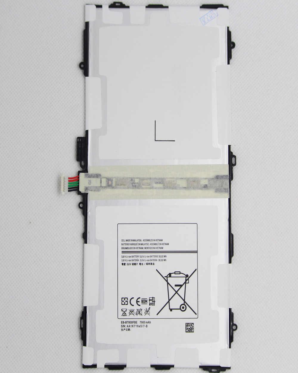 """7900 mAh EB-BT800FBE wymiana Tablet bateria do Samsunga Galaxy Tablet Tab S 10.5 """"SM-T800 T800 T801 T805 T807 T807A T807P"""