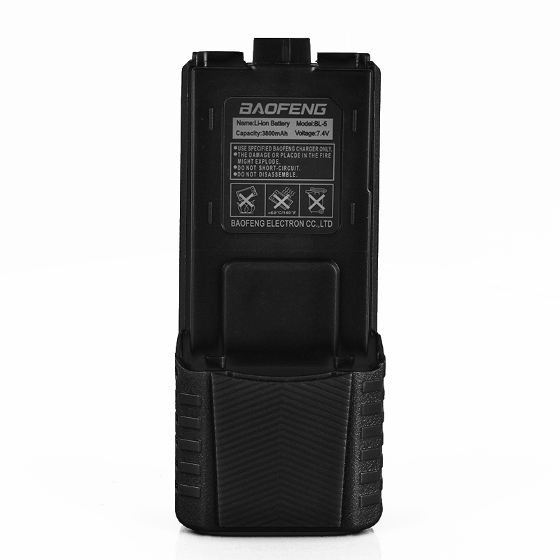 Baofeng Walkie Talkie Battery High Capacity 3800mAh For Two-way Radio UV-5R UV-5RE UV5RE Battery Box Baofeng Accessories Battery