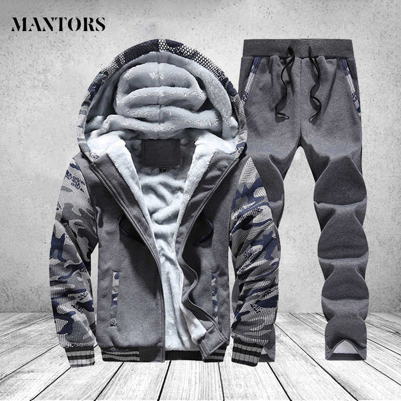 Winter Jas Mannen Casual Fleece Dikke Hooded Parka Mannen Kleding Merk Camouflage Winddicht Warm Trainingspak Man Hoody Uitloper