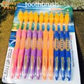 Special offer color handle adult toothbrush 10 PCS nano Super soft Healthy mouth Clean mouth