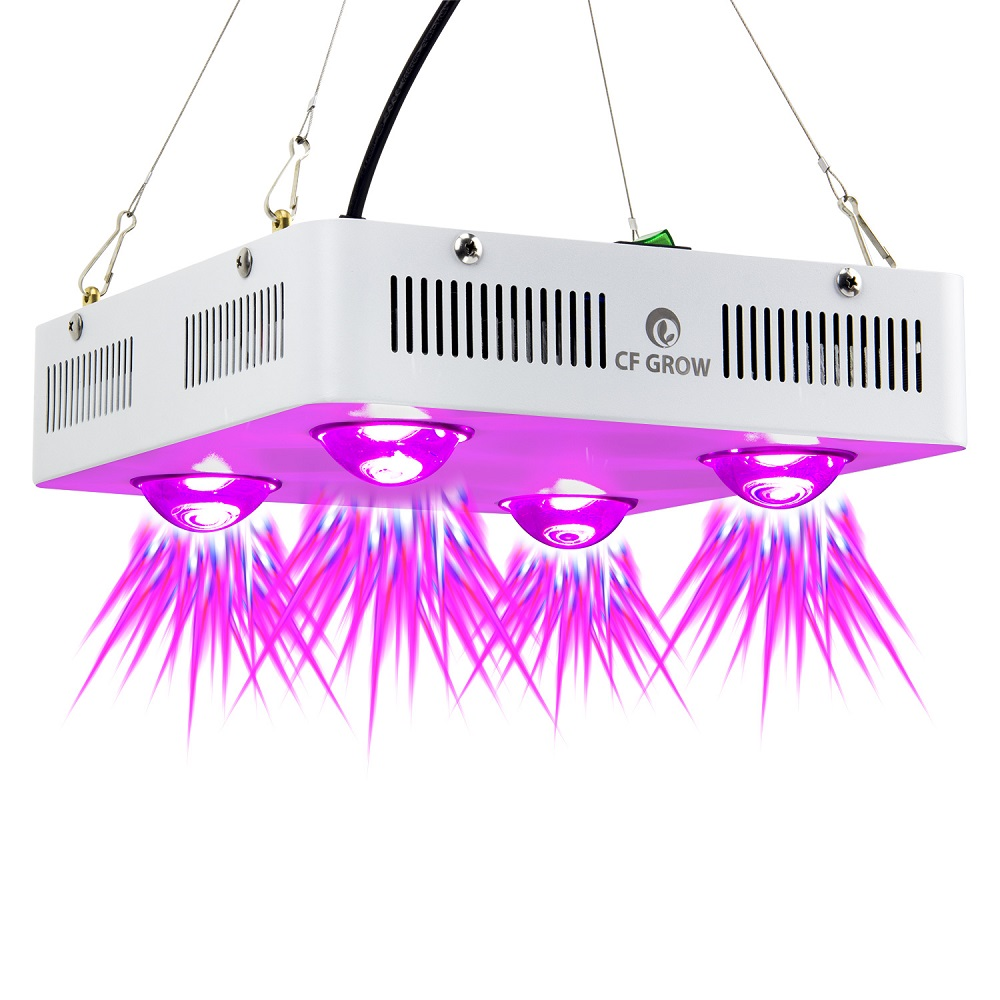 цены CF Grow 300W 600W COB LED Grow Light Full Spectrum Indoor Hydroponic Greenhouse Plant Growth Lighting Replace UFO Growing Lamp