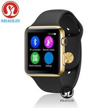 Shaolin bluetooth smart watch update 42 мм smartwatch чехол для apple iphone android смартфон, как apple watch