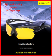 2PCS Impact resistant polycarbonate protective glasses goggles Dust storm cycling dustproof glasses safety work