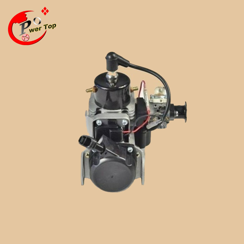 29CC Water-cooled Engine for RC Boats aluminum water cool flange fits 26 29cc qj zenoah rcmk cy gas engine for rc boat